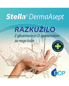 RAZKUŽILO ZA ROKE STELLA DermaAsept - 1 L